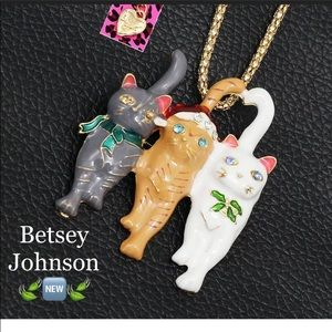 Betsey Johnson Cat Necklace 🌿🆕🌿